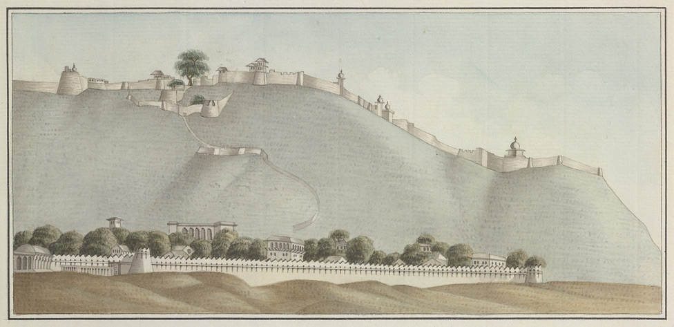 East view of Narwar